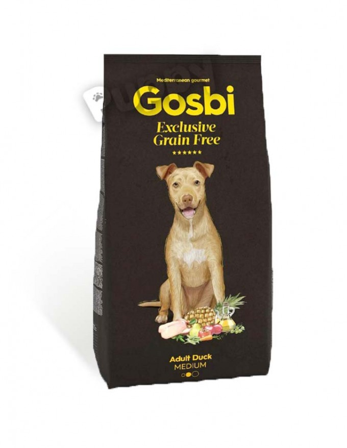 Gosbi exclusive grain free adult duck medium