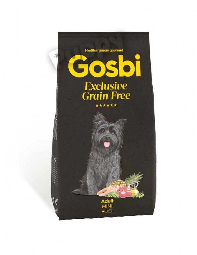 Gosbi exclusive grain free adult mini
